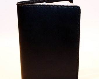 Leather Passport Cover! Leather Passport Holder! Leather Travel Passport Cover! Black Handmade Passport Cover! SALE