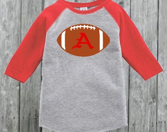Razorback  Football Raglan for Toddler Boy