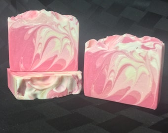Carnation Soap / Artisan Soap / Handmade Soap / Soap / Cold Process Soap