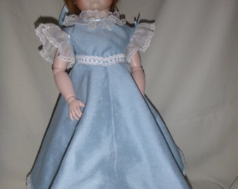 19th century style ballerina dress for 21-22 in. dolls