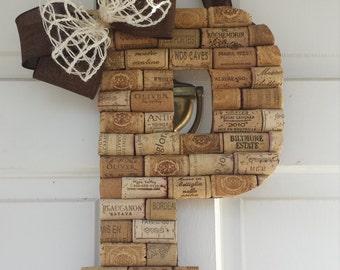 Personalized Wine Cork Letters, Custom Wine Cork Crafts, Wine Corks, Wine Cork Monogram, Wine Cork Wall Decor, Wine Cork Letters