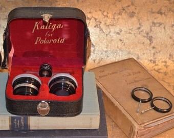 Kaligar Vintage Estate for Polaroid Lense Set