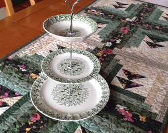 Cake/snack plate stand vintage