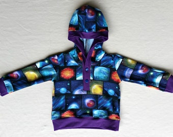 Planet Hoodie, 12 months