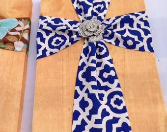 Fabric Crosses