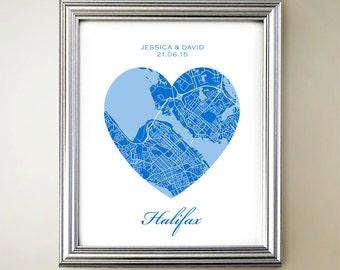 Halifax Heart Map