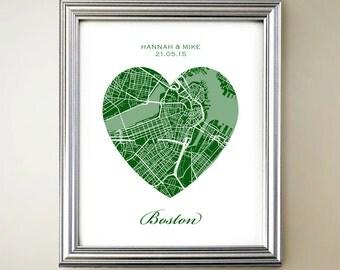 Boston Heart Map