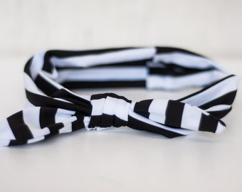 The Baby Boutique Stripe Headbands (3 Color Options) *REDUCED PRICE*