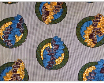 WHOLE6 YARDS High Quality Julius Holland Wax Print/African Fabrics For DressmakingsTissues Africain/ Ankara