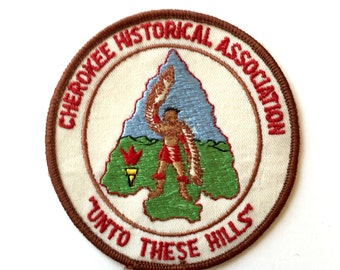 Vintage Cherokee Historical Association Patch