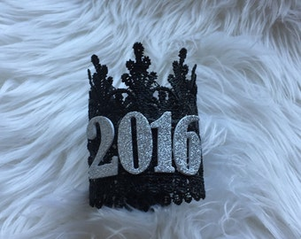 New Years Lace Crown  2016    Lace Crown    NYE