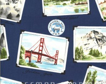National Park Centennial Quilt Fabric Hoffman High Quality Cotton