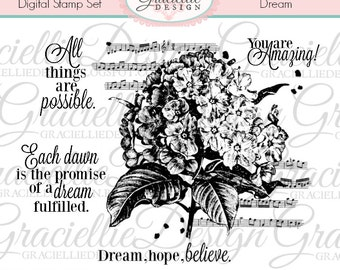 Dream Digital Stamp Set