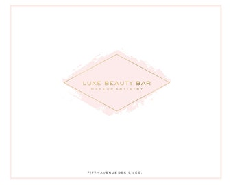 Pre Made Logo Design - Luxe Bar Beauty