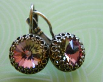 Swarovski Earrings - vitrail light