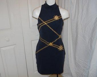 Vintage Tadashi knit mini dress