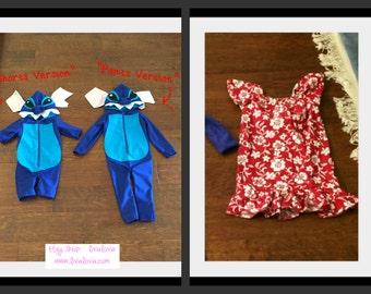 Stitch Inspired Costume, Lilo Inspired Costume, Lilo and Stitch