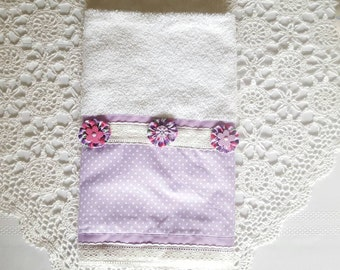 White Towels, Lilac Towels, Bath Towels, Kitchen Towels, Hand Towels, Dish Towels, Dishcloths, Christmas Gifts, Mother's Day