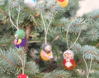 Christmas Babushka Ornaments  (Various)