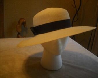 1940's Large Brim Hat