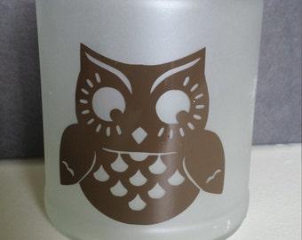 Owl Candle Jar