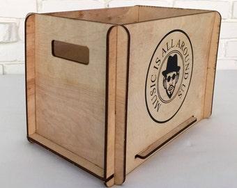 Great Guy Gift - Vinyl LP Storage Crate