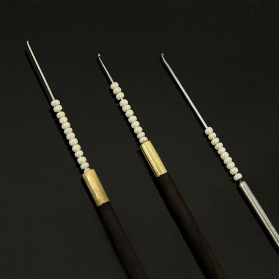 Hand embroidery needles for ari technique