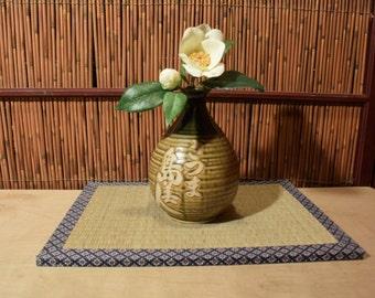 Vintage Japanese Pottery Vase / Sake Bottle