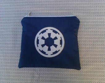 Star Wars Empire Symbol Embroidered Zipper Pouch