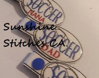 Soccer Key Fob (Set of 5)