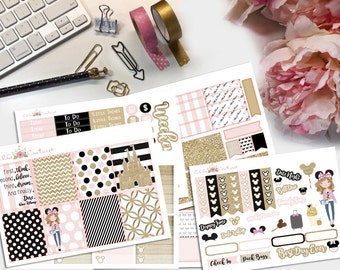 Dare to Dream Planner Sticker Kit by EllaCouturebyJessica