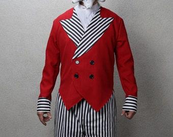 3-Piece Clown Ringleader Costume