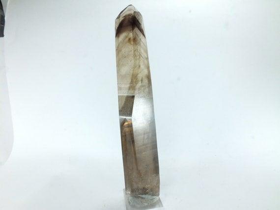 Smoky Quartz Crystal With Phantom Crystals Silent Grove