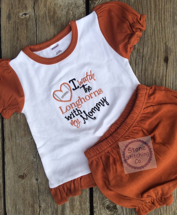 Texas Longhorn bodysuit longhorn baby t University of