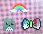 Kawaii Hama: Totoro, Rain...