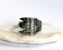 london ring, england ring, st pauls cathedral ring, spoon ring,  church of england ring