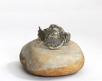 netherlands ring, lantern ring, spoon ring, coat of arms ring
