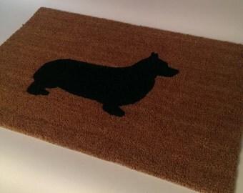 Corgi Doormat (size options)