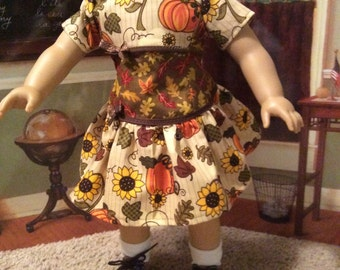 Pumpkins and sun flowers for the new American girl Maryellen