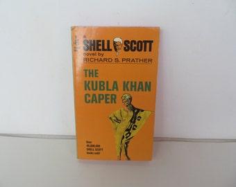 Richard  S. Prather  The Kubla  Khan  Caper  1968  Paperback book
