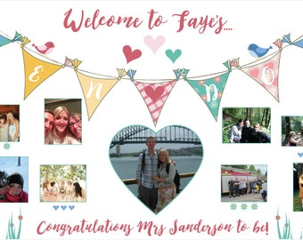 Personalised Hen Do Banner