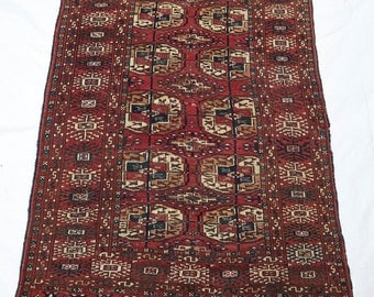 Antique Turkomon Rug