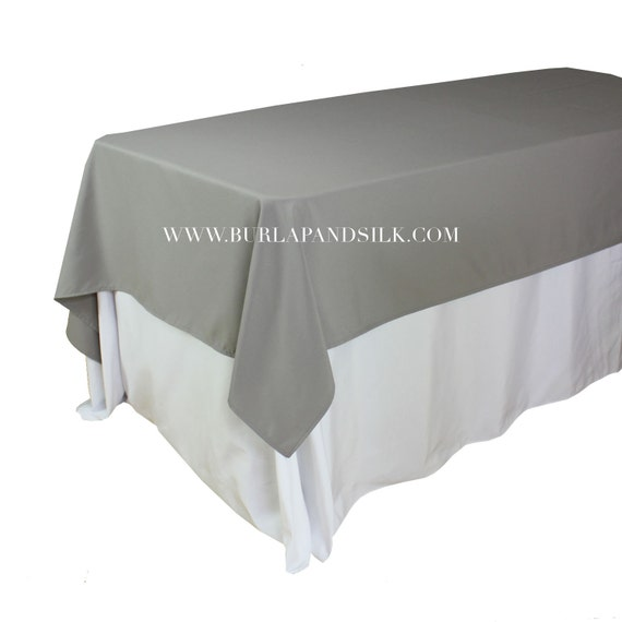 60 x 102 inches gray rectangular tablecloths gray rectangle for 102 table runners