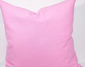 On Sale Pillow cover. 20x20.pink. Solid pink pillow cover. Designer  cover.cushion cover.cm