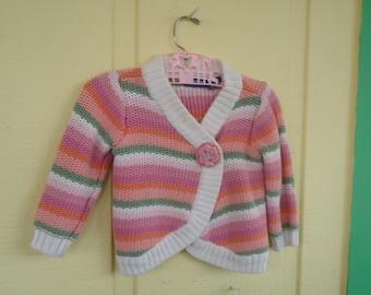 Little girls sweater 18 Mo