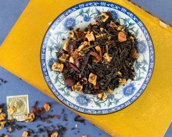 Lychee Black Tea Blend / Lychee Black Tea / Strawberry Black Tea / Black Tea Blend / Loose Leaf Tea / Strawberry Lychee