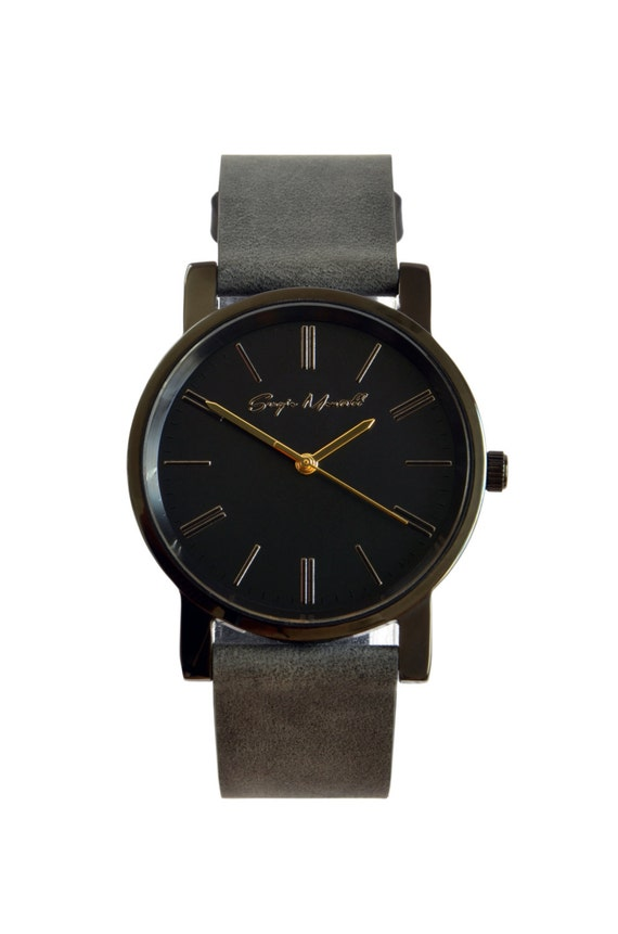 mens womens minimalist by leatherandstyle