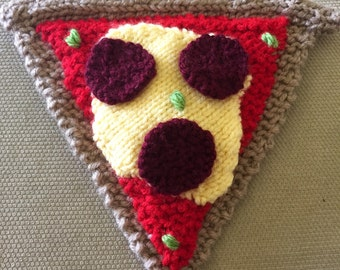 Play Food: Knit Pizza Slice