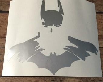 Batman inspired decal, batman, i love batman, batlife, i love superhero's