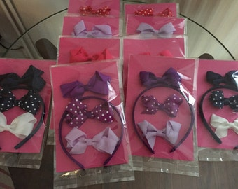 Small bow gift set